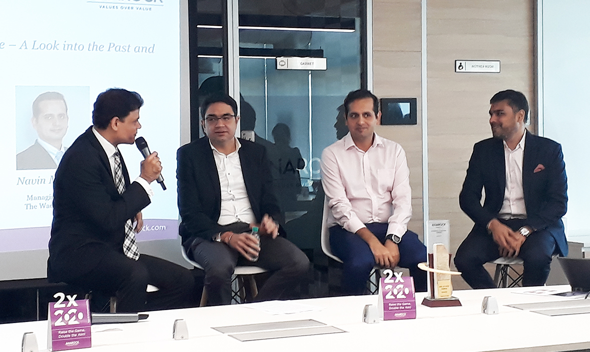 INDUSTRY STALWARTS AT THE ANAROCK TOWNHALL IN MUMBAI – APRIL 2019