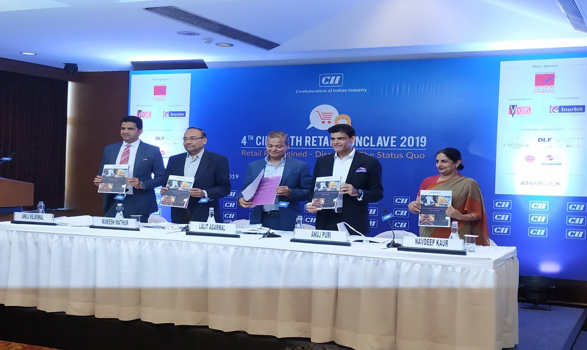 Report Release at CII North Retail Conclave 2019
